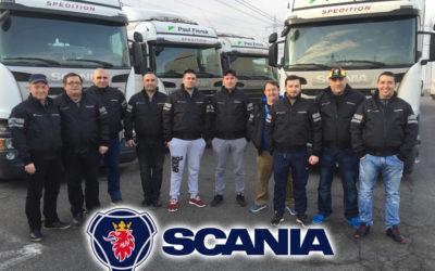 Scania Fahrerschulung