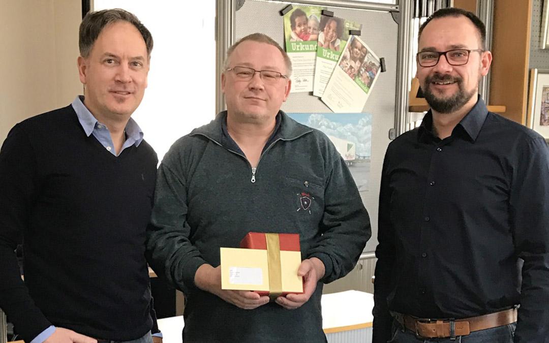 Thomas Seifert 25 Jahre Paul Fierek