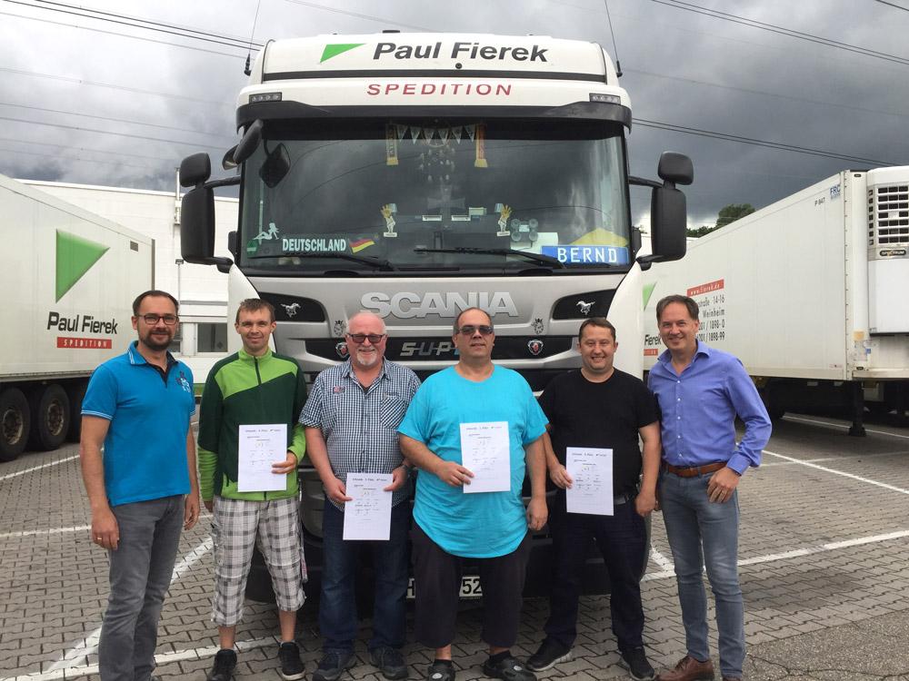 Scania Fahrer Challenge Mai 2017