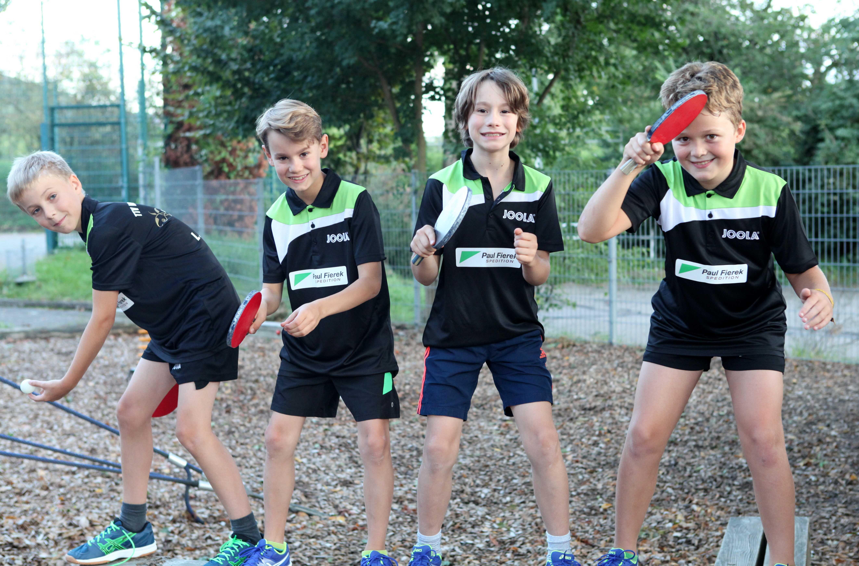 Jugendmannschaft Tischtennis Weinheim