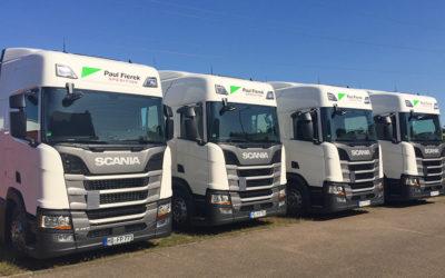 Neue Scania Sattelzüge