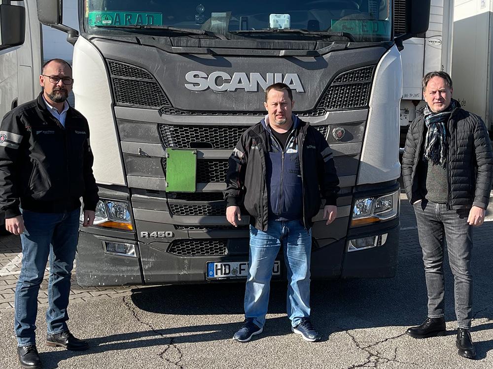 Eduard_H 10 Jahre Fahrer bei Paul Fierek Spedition
